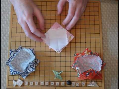 Origami Candy Dish Instructions