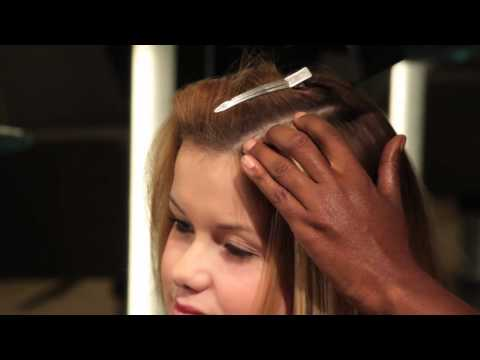 See How a Weave is Put In