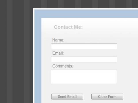 Styling a Simple Form with CSS in Dreamweaver