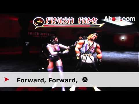 Fatalities and Finishing Moves for Mortal Kombat: Armageddon - PS2