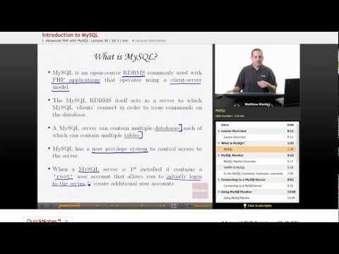 PHP with MySQL: What is MySQL?