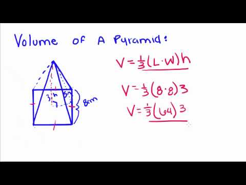 Introduction to Geometry - 62 - Volume of a Pyramid