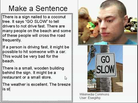 Learn English Make a Sentence and Pronunciation Lesson 46: Go Slow