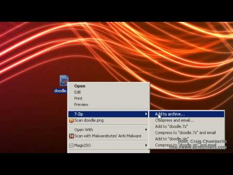 Free Software! [HD]: Tools: 7-zip Creates or Extracts Most Compressed File Types with Open Source