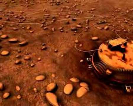 Huygens landing site revisited