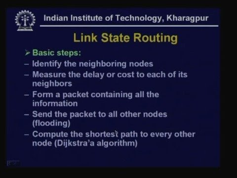 Lecture - 21 Routing - II