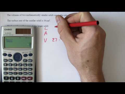 (23) GCSE A star revision Scale factor enlargement of similar shapes.MP4