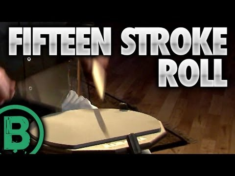 Fifteen Stroke Roll - Drum Rudiment Lessons