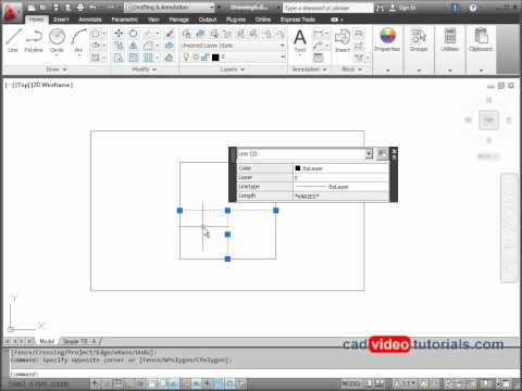 AutoCAD 2012 Drawing Project - Locator Plate
