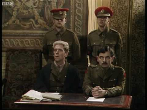 Blackadder is court-martialled - Blackadder - BBC