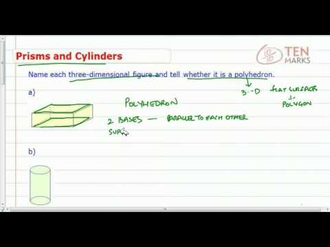Cylinders and Prisms
