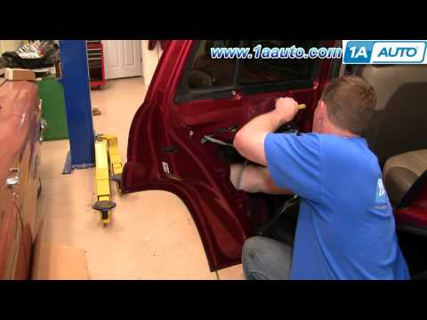 How To Install Repair Replace Broken Rear Power Door Lock Chevy Trailblazer 02-09 1AAuto.com