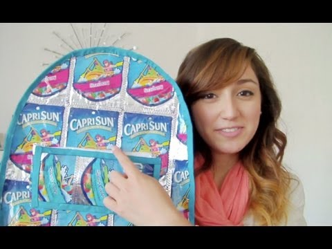 Caprisun Backpack How-to, DIYer For Life