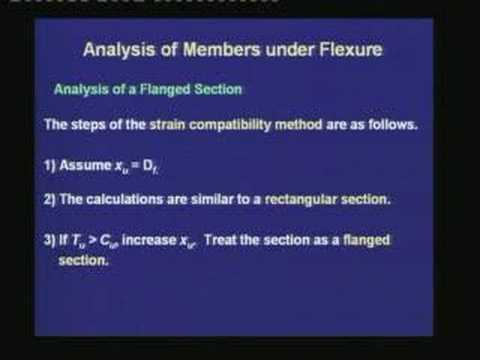 Lecture-15-Analysis of Flanged Sections