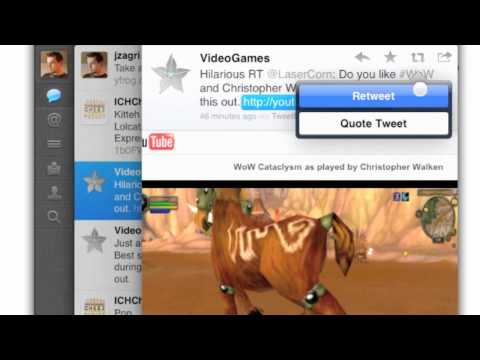How to Re-Tweet in Twitter for the iPad