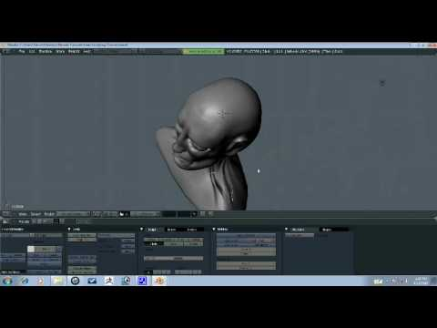 Blender Tutorial - Head Sculpting Part 6/9