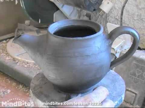 Pottery - Prt 5 of 21 - Applied decoration tea pot