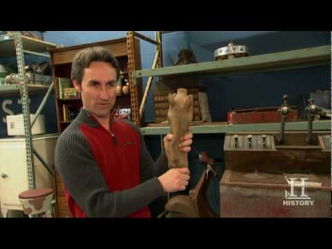 American Pickers: Mike's Tour of the Workshop