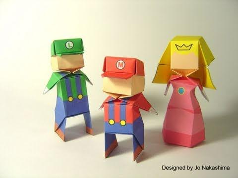 Origami Little Boy (Jo Nakashima) - 200th Video!!! \o/