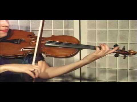 "Violin Lesson - Song Demo - ""Air From Sonata in A major"""