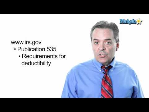 Deductible Small Business Expenses