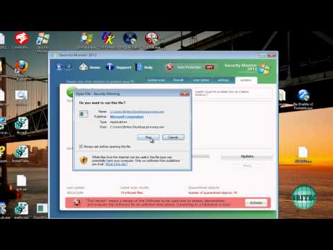 How to Remove Security Monitor 2012 by Britec