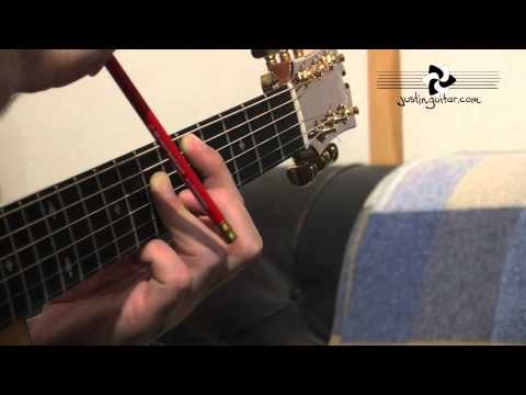 A Shape Major Barre Chord Grip (Guitar Lesson IM-131) How to play IF Stage 3
