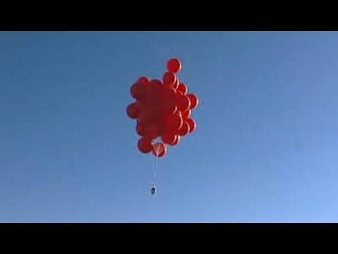 Balloon Boy - Helium Balloon Lifting Test