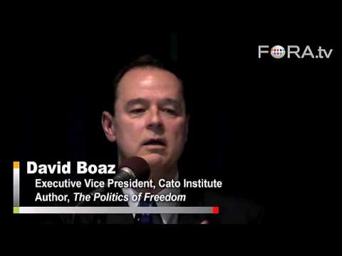 Libertarian David Boaz on Gay Marriage