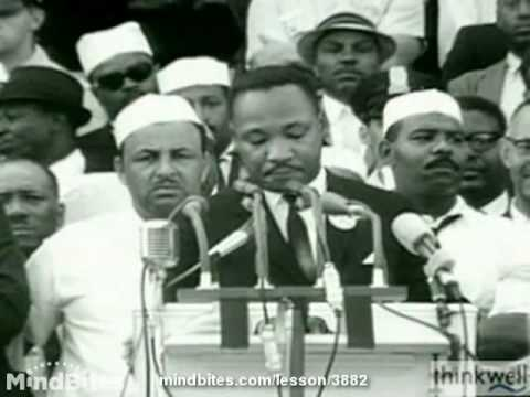 Public Speaking: Martin Luther King, Jr's Speeches