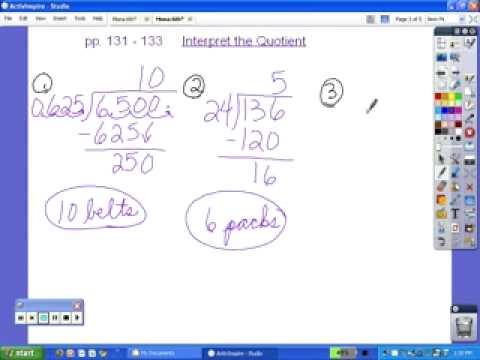 6th Grade Lessons 37 through 310