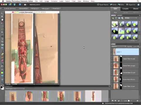InfiniteSkills Tutorial | Photoshop Elements 10 Training - Creating a Photomerge Panorama