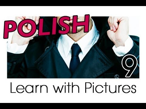 Learn Polish with Pictures - Getting Dressed