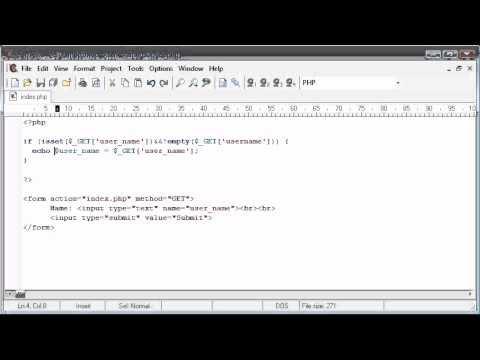 Beginner PHP Tutorial - 47 - String Functions: Upper / Lower Case Conversion