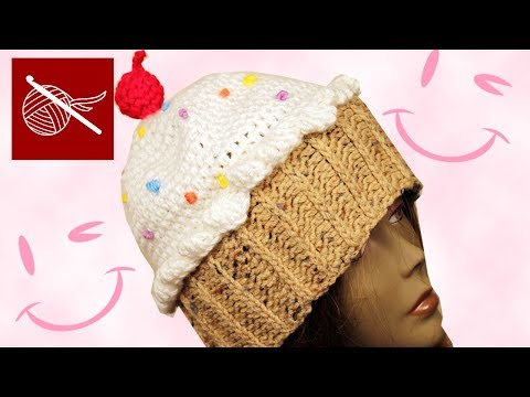 Crochet Geek - How to Crochet a CupCake Hat
