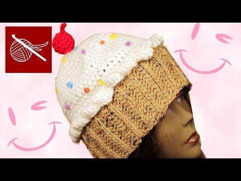 Crochet Geek - How to Crochet a CupCake Hat