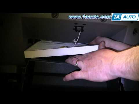 How To Install Replace Cabin Air Filter Saturn Ion 03-07 1AAuto.com