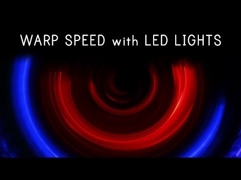 Episode Extra | Creating Warp Speed with LED lights | Shanks FX |  PBS Digital Studios