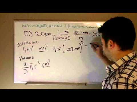 Learn Physics lesson 1.1:(part 2) Surface Area & Volumes of Spheres