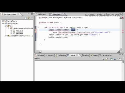 Tutorial 3 Spring Framework en español