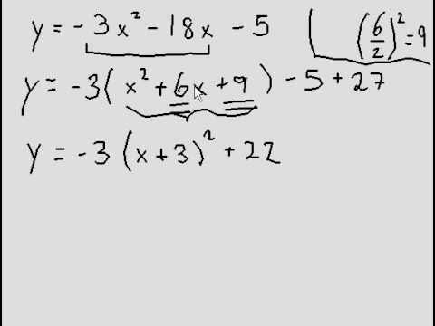 Completing the Square - broken down and explained (easy!) #4