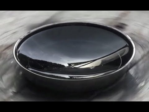 Liquid Mirror Telescope Specular Reflection True Adjustable Parabola Solid Body Rotation
