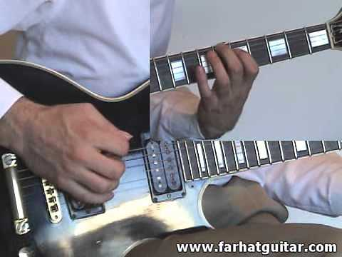 Enter sandman Metallica Guitar Cover Part 1 www.Farhatguitar.com