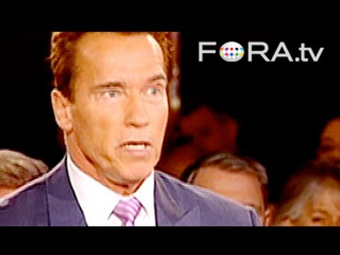 "Schwarzenegger: US Infrastructure ""Like a Developing Country"""