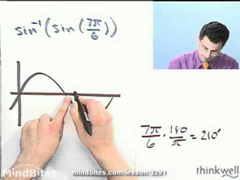 Trigonometry: Trig Function Composition & Inverse