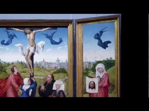 Rogier van der Weyden, Crucifixion Triptych, c. 1445