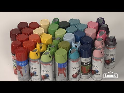 Spray Paint Tips - Good to Know