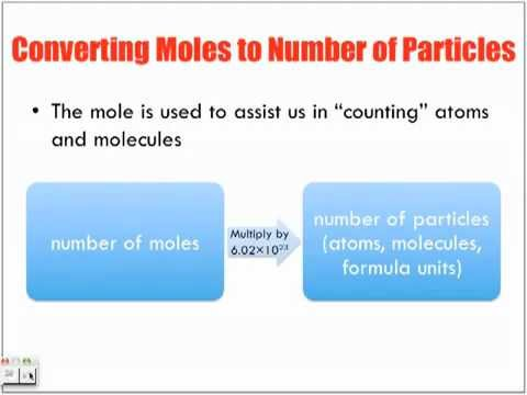 Avogadro Constant & the Mole Lecture