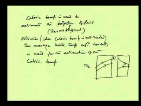 Mod-07 Lec-32 Design of double pipe heat exchanger