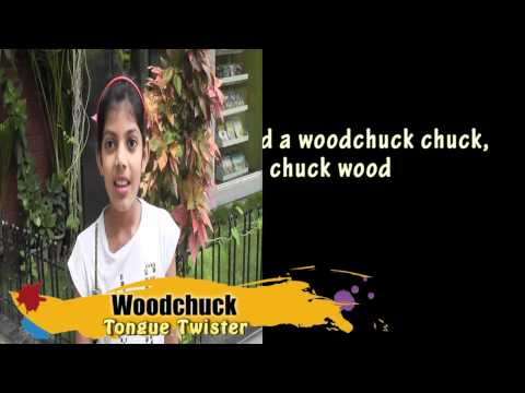 Woodchuck - tongue twister